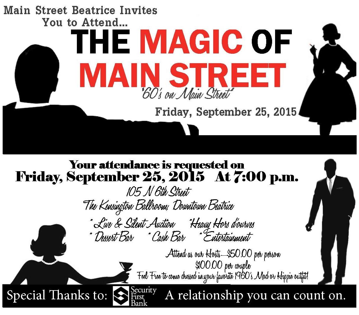 2015 Magic of Main Street Downtown Beatrice, NE