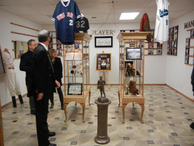 This image is of the Nebraska Baseball Hall of Fame.