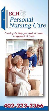 BCH Personal Nursing Care Brochure