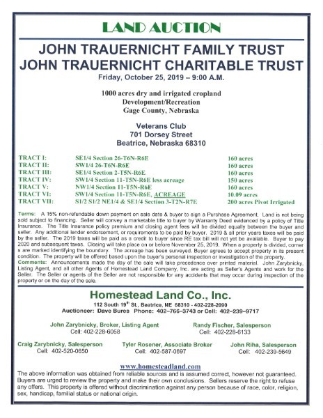 Homestead Land Company photo