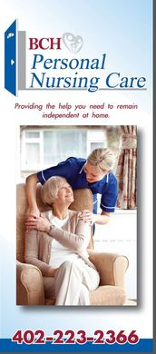 BCH Personal Nursing Care Brochure