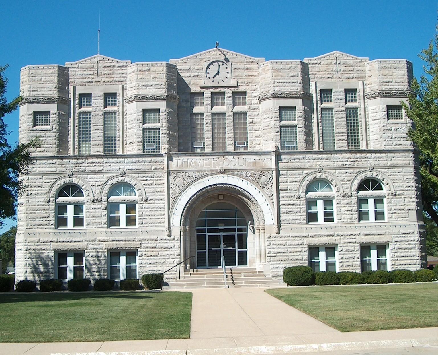 Thayer County Courthouse, Hebron, Nebraska
