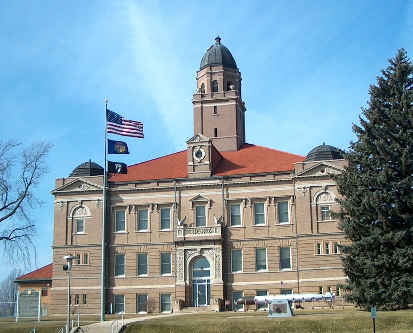 Saunders County Courthouse, Wahoo, Nebraska