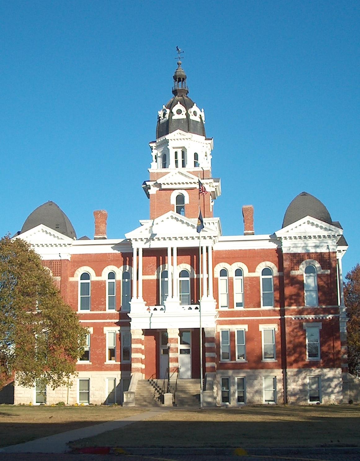Johnson County Courthouse, Tecumseh, Nebra
